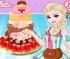 بازی کیک مخصوص ازدواج السا